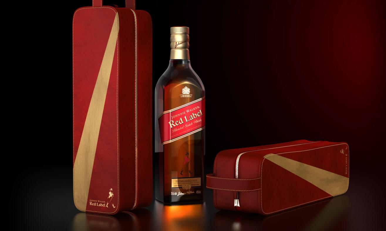 JOHNNY WALKER RED 2440X900