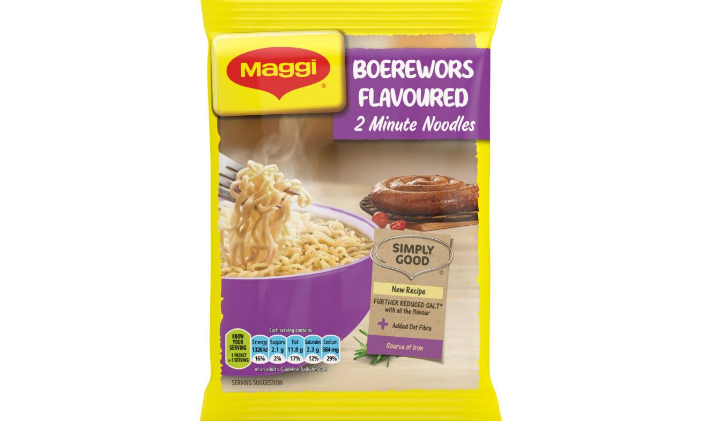 Maggie Noodles Boerewors